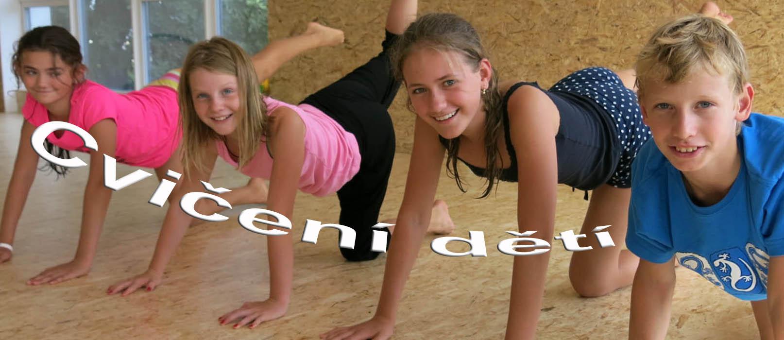 puleček cvičení dětí